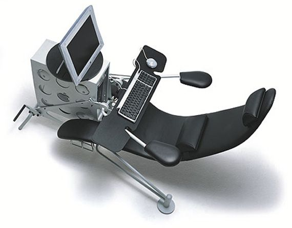 Hm This Looks Like It Doubles As A Dentist S Chair And Or Exercise Bike Ergonomic Computer Chair Ergonomic Computer Desk Computer Desk Chair