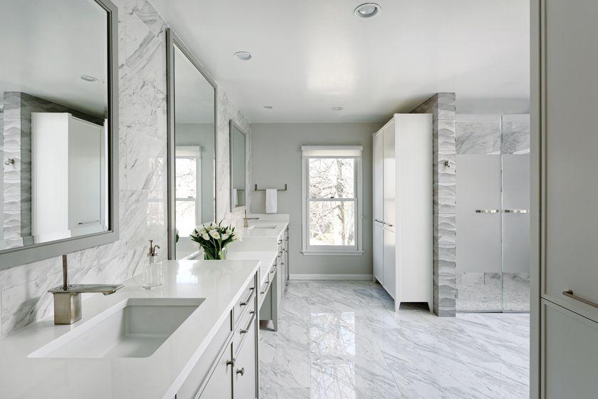 Home Design Magazine Home Design Interior Design White Marble Bathrooms Kitchen And Bath Design Bathroom Interior Design
