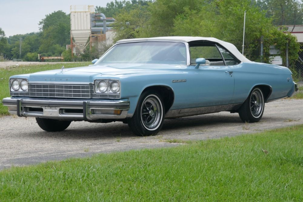 Used 1975 Buick LeSabre -TWO OWNER- CONVERTIBLE -SUPER LOW MILES ...