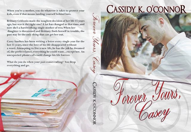 . Spotlight Tour  Forever Yours Casey by Cassidy K. OConnor .