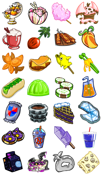 Neopet Faerie Food I Always Thought This Stuff Was So Cute