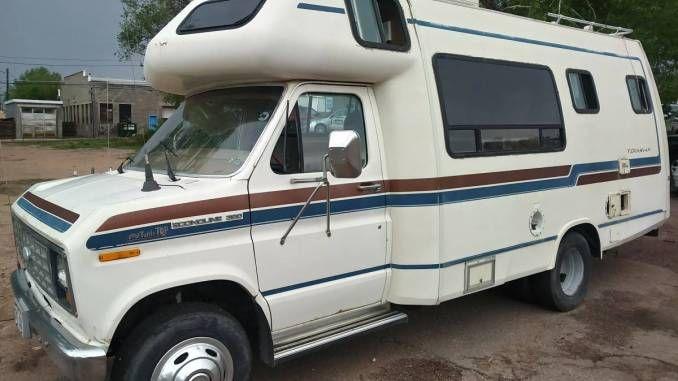1985 Terravan Transit Van In Colorado Springs Small Rvs For Sale Rv For Sale Van For Sale