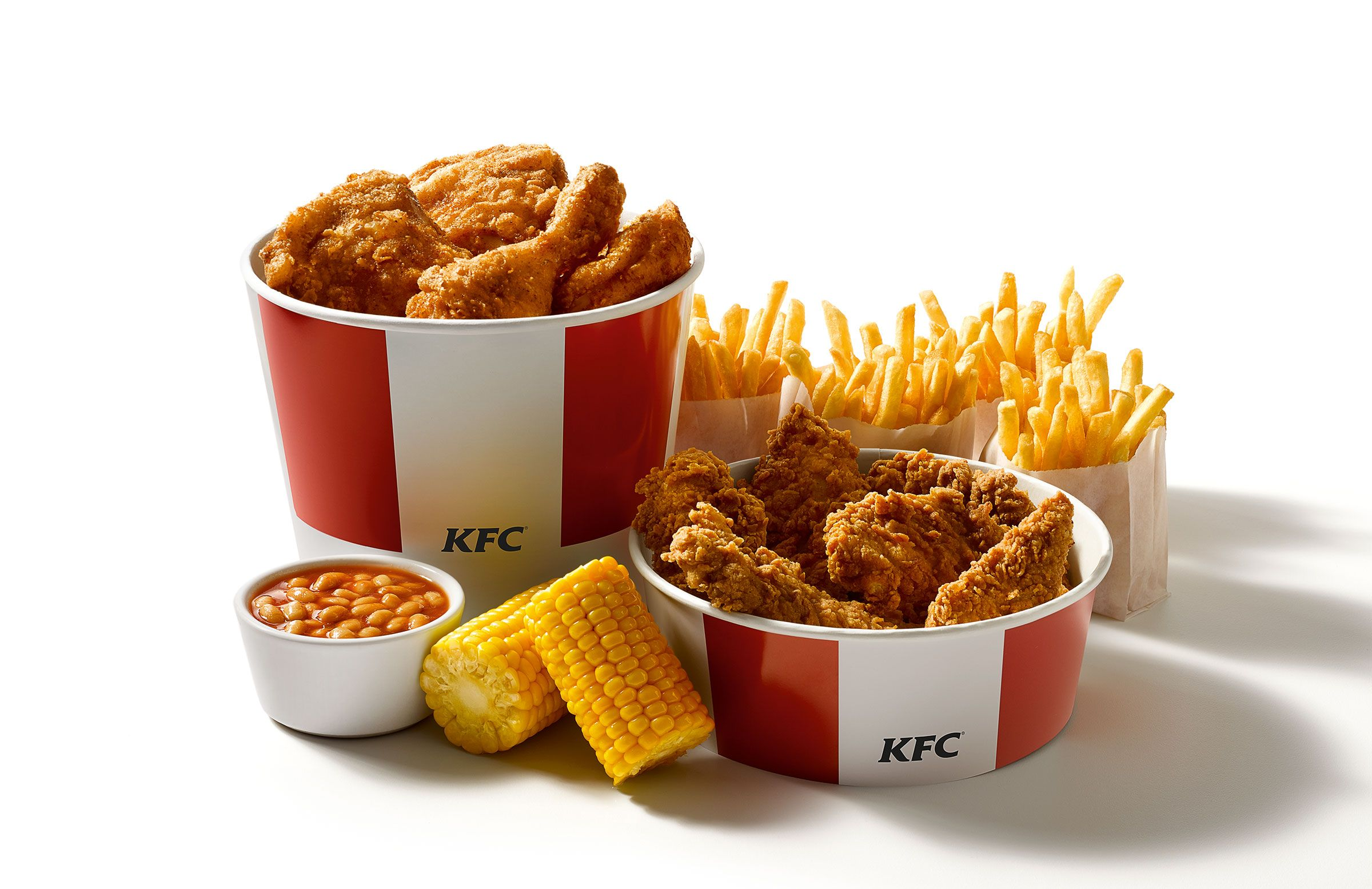 Kfc Bucket Funny: Our Double Bucket Meal Now With Added Zing. #KFC