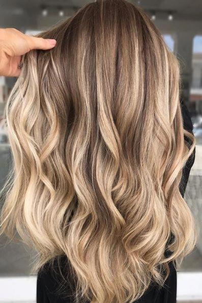 Verwonderlijk 17 Stunning Dark Brown Hair with Blonde Highlights (2019 Examples OI-44