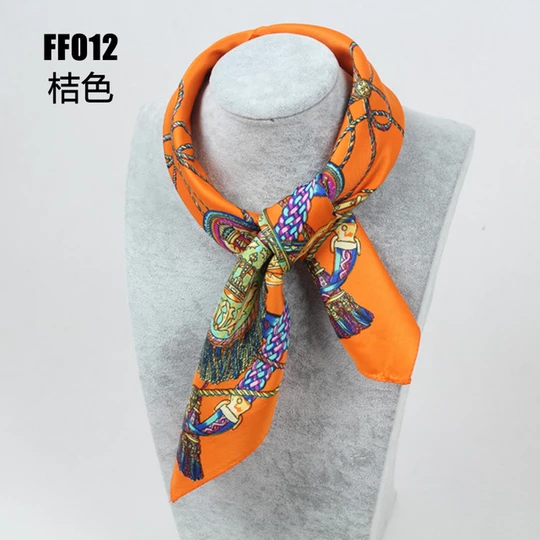 100 Silk Scarf Women Square Scarf Neckerchief 2019 Foulard Top Silk B Geekbuyig Womens Scarves Silk Bandana Square Silk Scarf