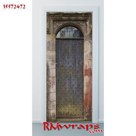 Old castle Door 35572472  sc 1 st  Pinterest & Old castle Door 35572472 | Pizza | Pinterest | Castle doors Doors ...
