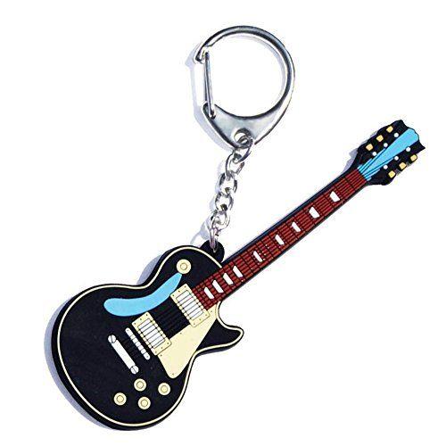 "Fantastic guitar keyring - My Music Gifts ""Vintage Electric Guitar"" PVC Key Ring - #guitar #guitarra #guitarist #guitargifts #noveltygifts #guitaraccessoires #guitars #guitarplayer #noveltygift - amazing guitar gifts"