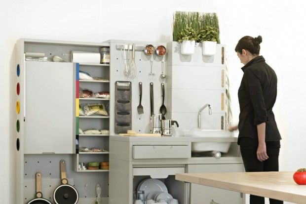 IKEA Concept Kitchen 2025- An in-kitchen composting system could