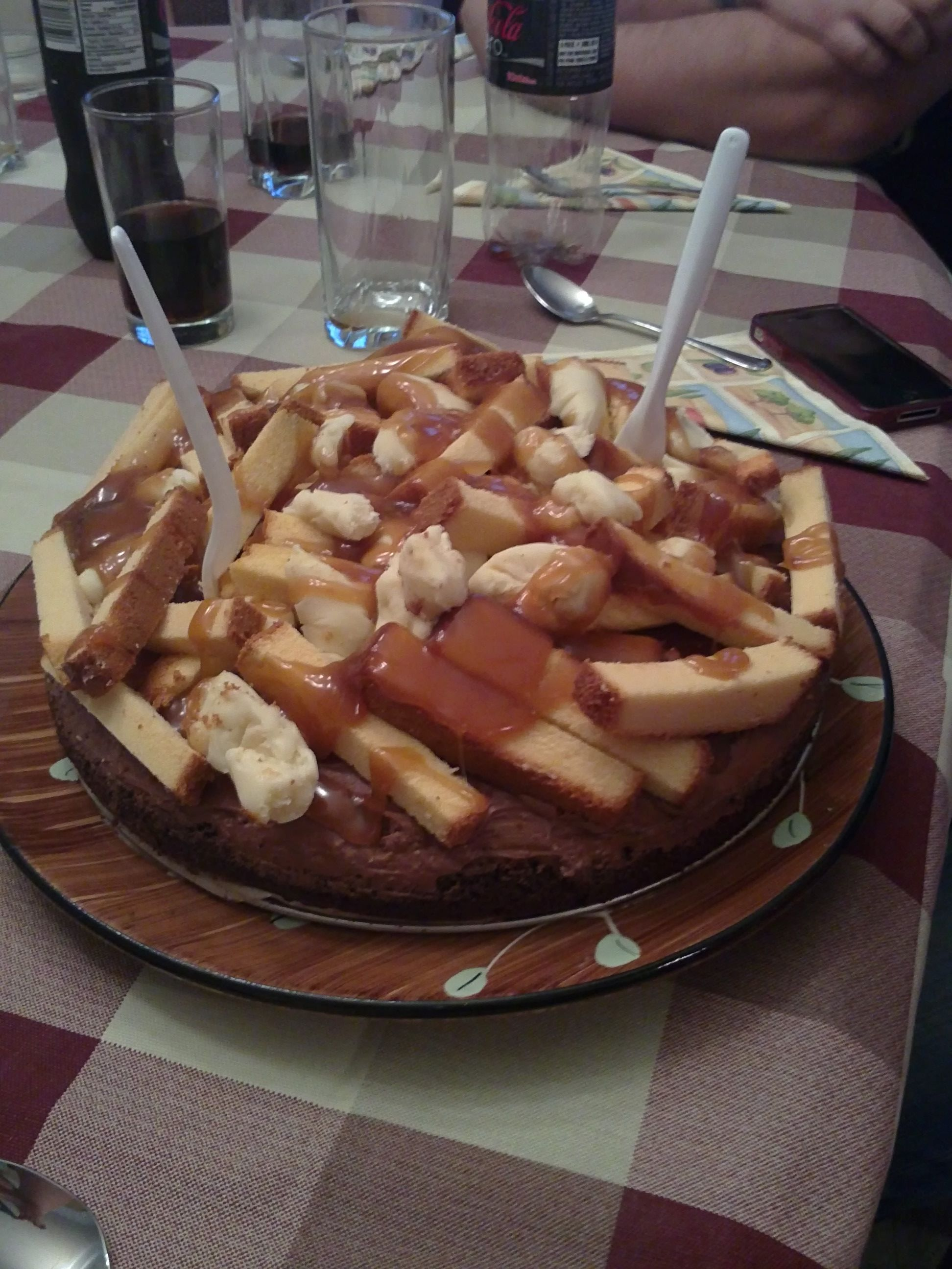 Gateau chips
