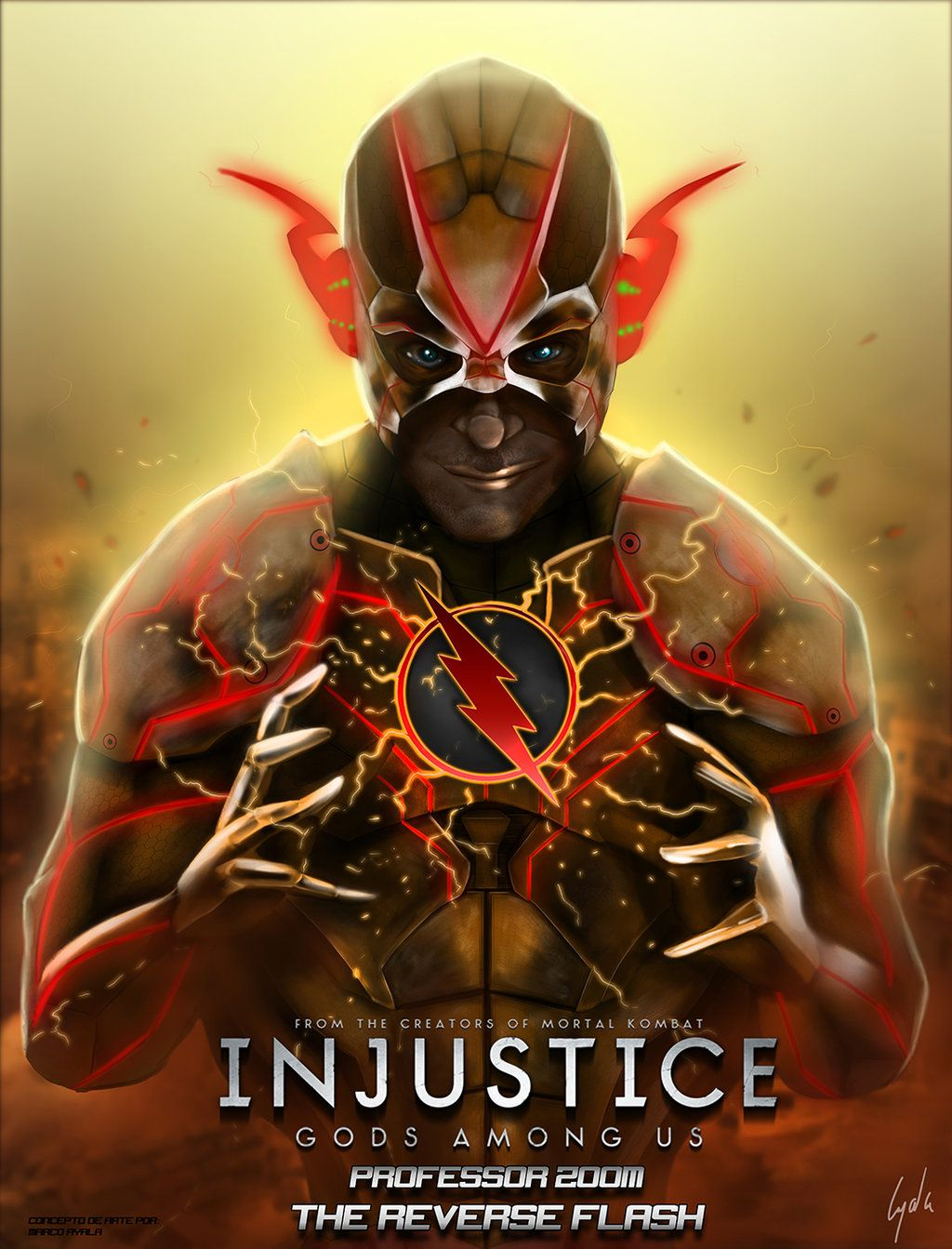 Professor Zoom Injustice Gods Among Us by fosmark13 ...