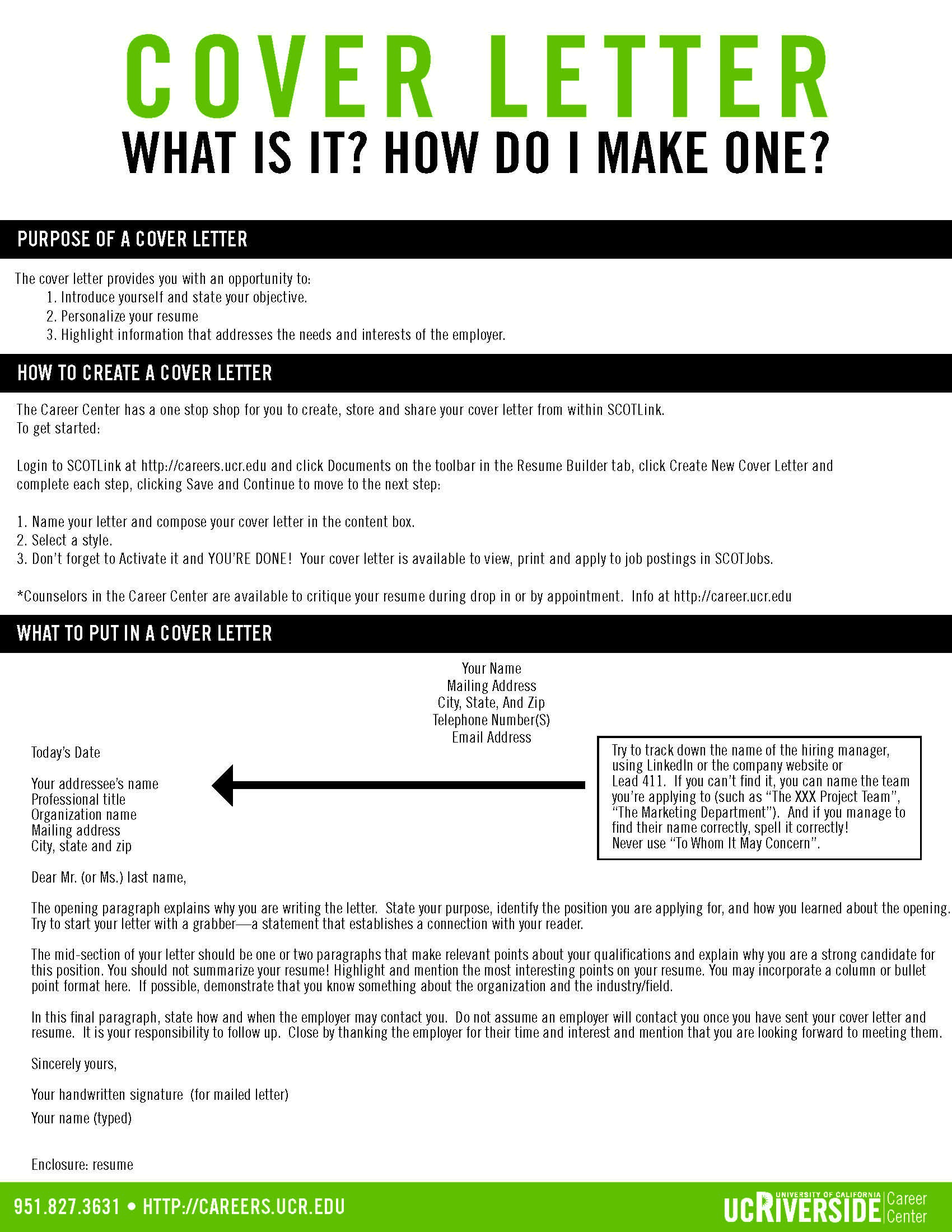 Cover Letter Pt 1 Career Center Resources Pinterest