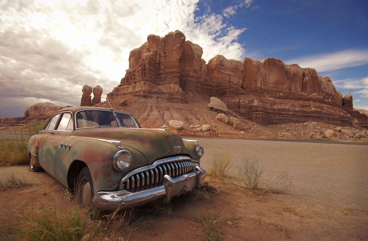 Desert Buick by RollingFishays.deviantart.com on @deviantART ...