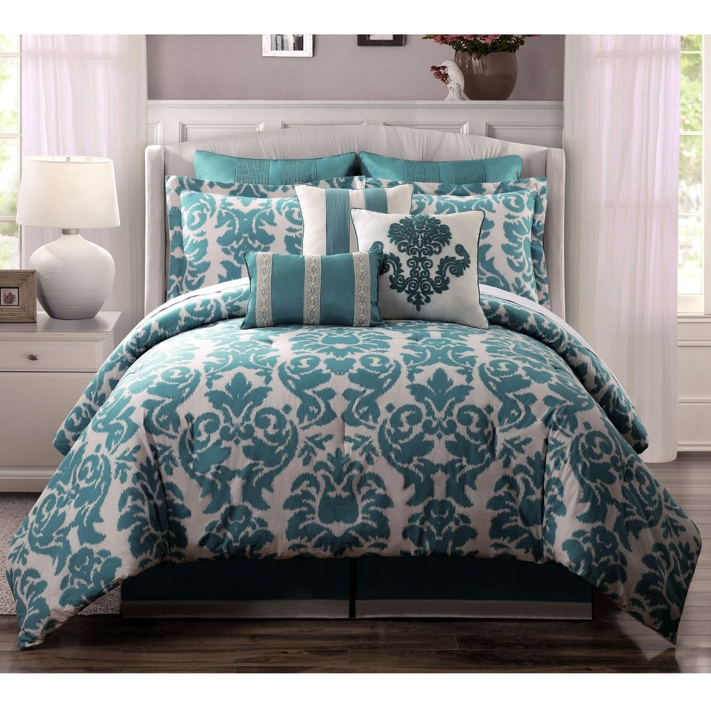 Overstock Com Online Shopping Bedding Furniture Electronics Jewelry Clothing More Teal Bedding Teal Bedding Sets Comforter Sets