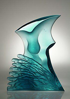 Latchezar Boyadjiev - Contemporary Abstract Glass Sculptures - Torso II