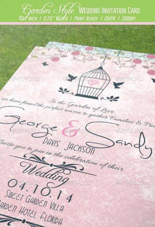 Garden-Style-Wedding-Invitation-Card Wedding Invitations - best of invitation card about wedding