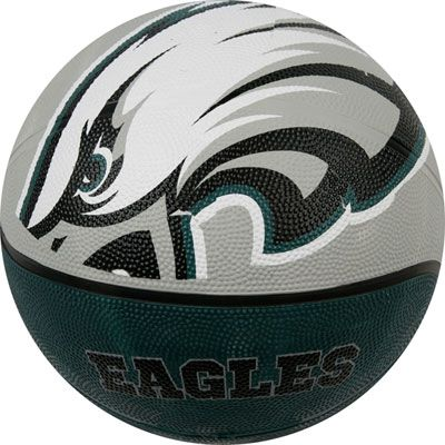 the best attitude 681db 7edc0 Eagles pride on the court! Big Logo Basketball $11.99 ...