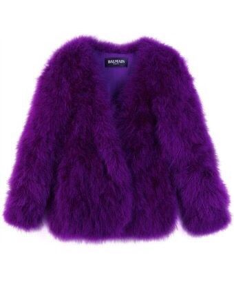 Balenciaga Purple Coat