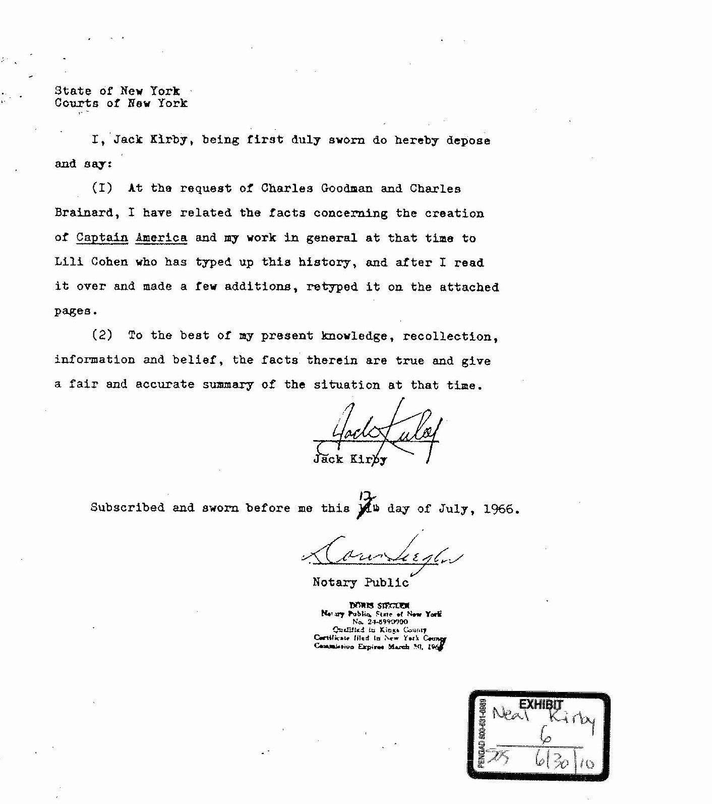 Free Sworn Statement Template Unique Sworn Declaration Template