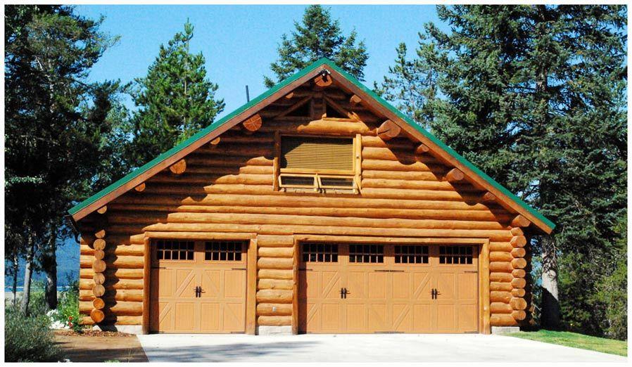 Log Cabin Garages talentneeds – Log Garage Apartment Plans