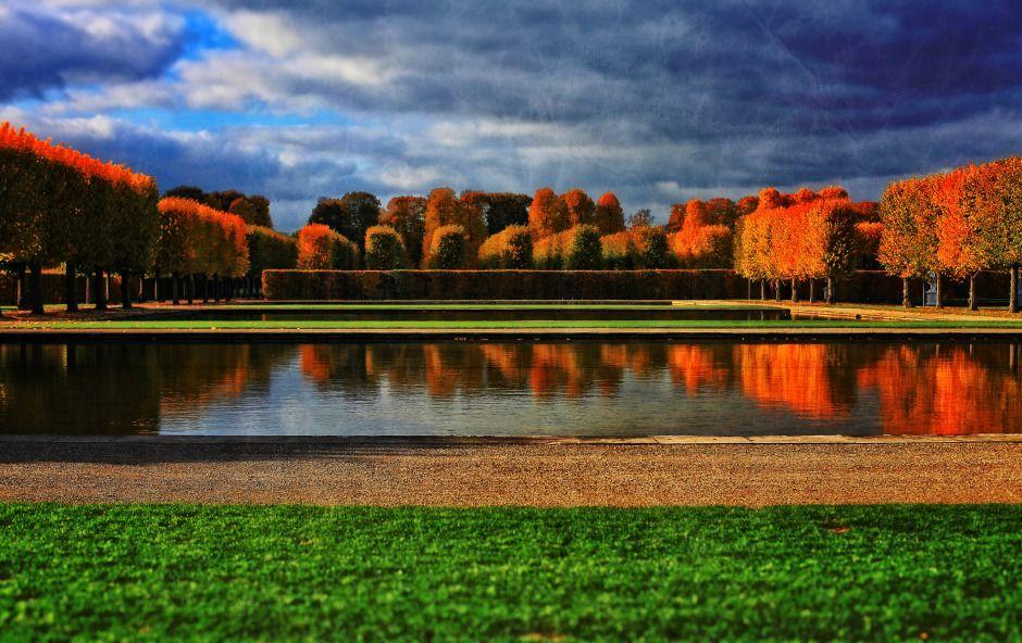 Hannover Herrenhauser Garten Hanover Royal Gardens Herbstfarben Hannover Herrenhauser Garten Grosse Hauser Haus