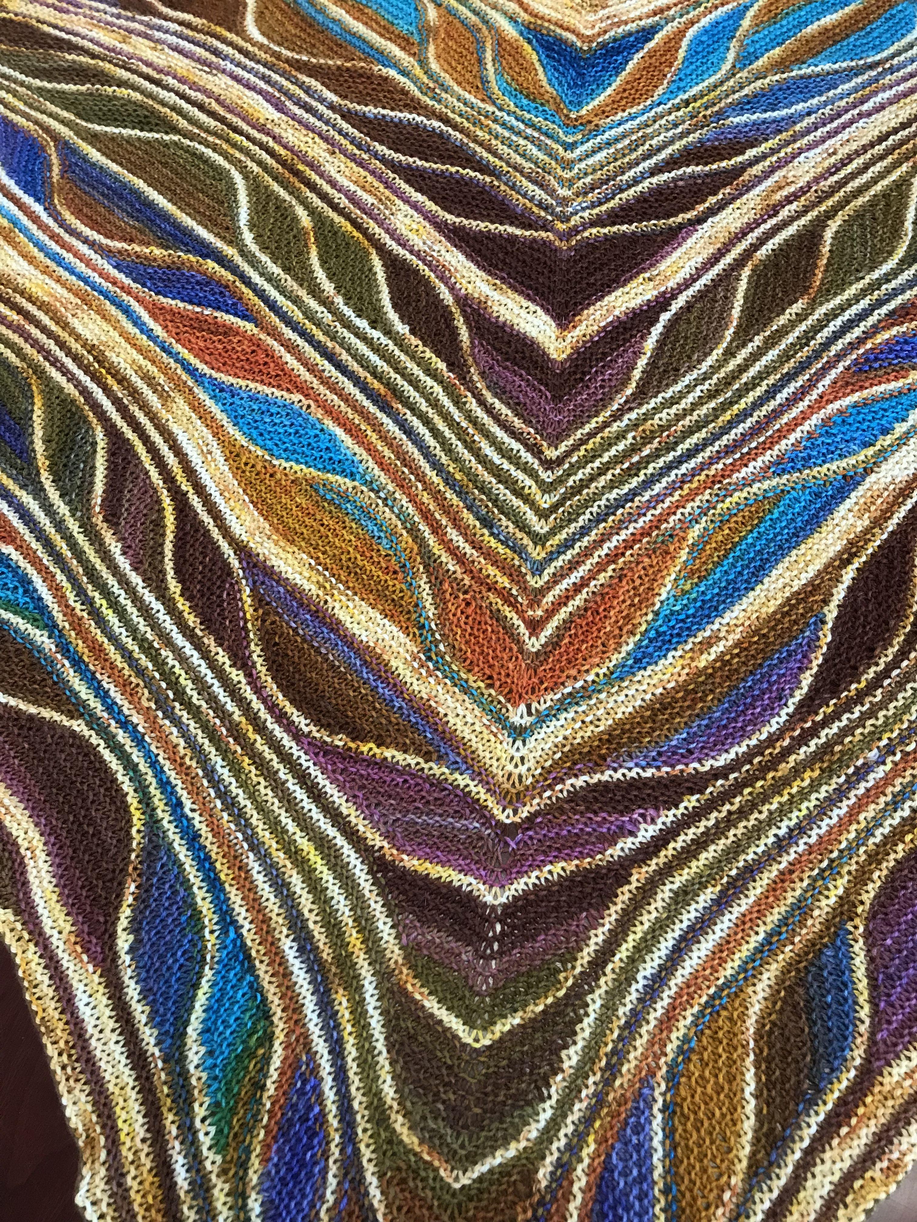 Uneek Butterfly Shawl Knitting Knitted Shawls Shawl Bohemian Rug