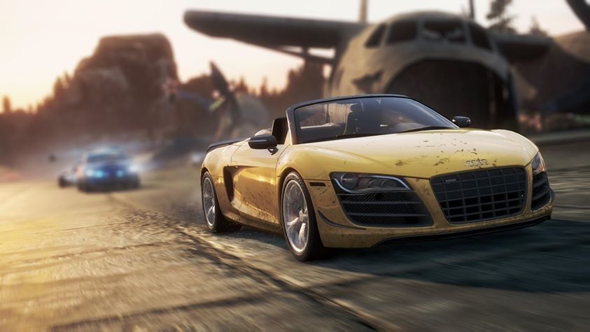 NEED FOR SPEED《MOST WANTED 》#Audi #R8 GT Spyder  #NFS