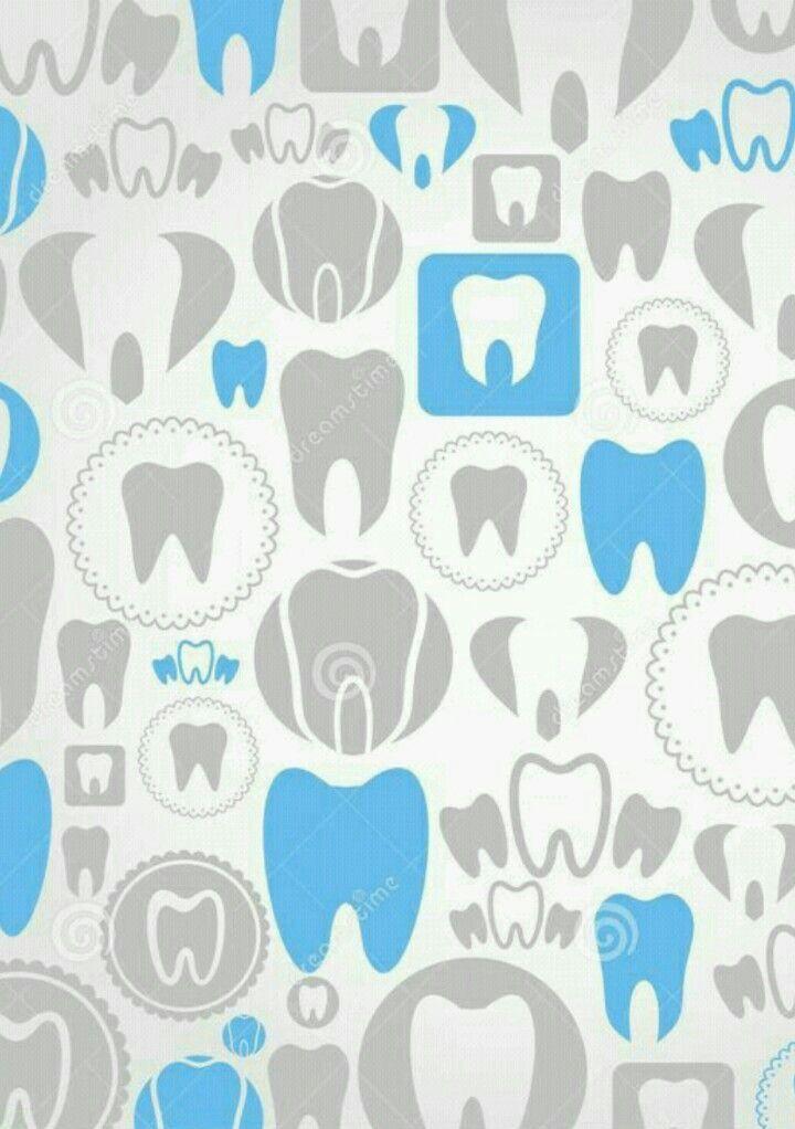Office Wallpaper Teeth Tapestries