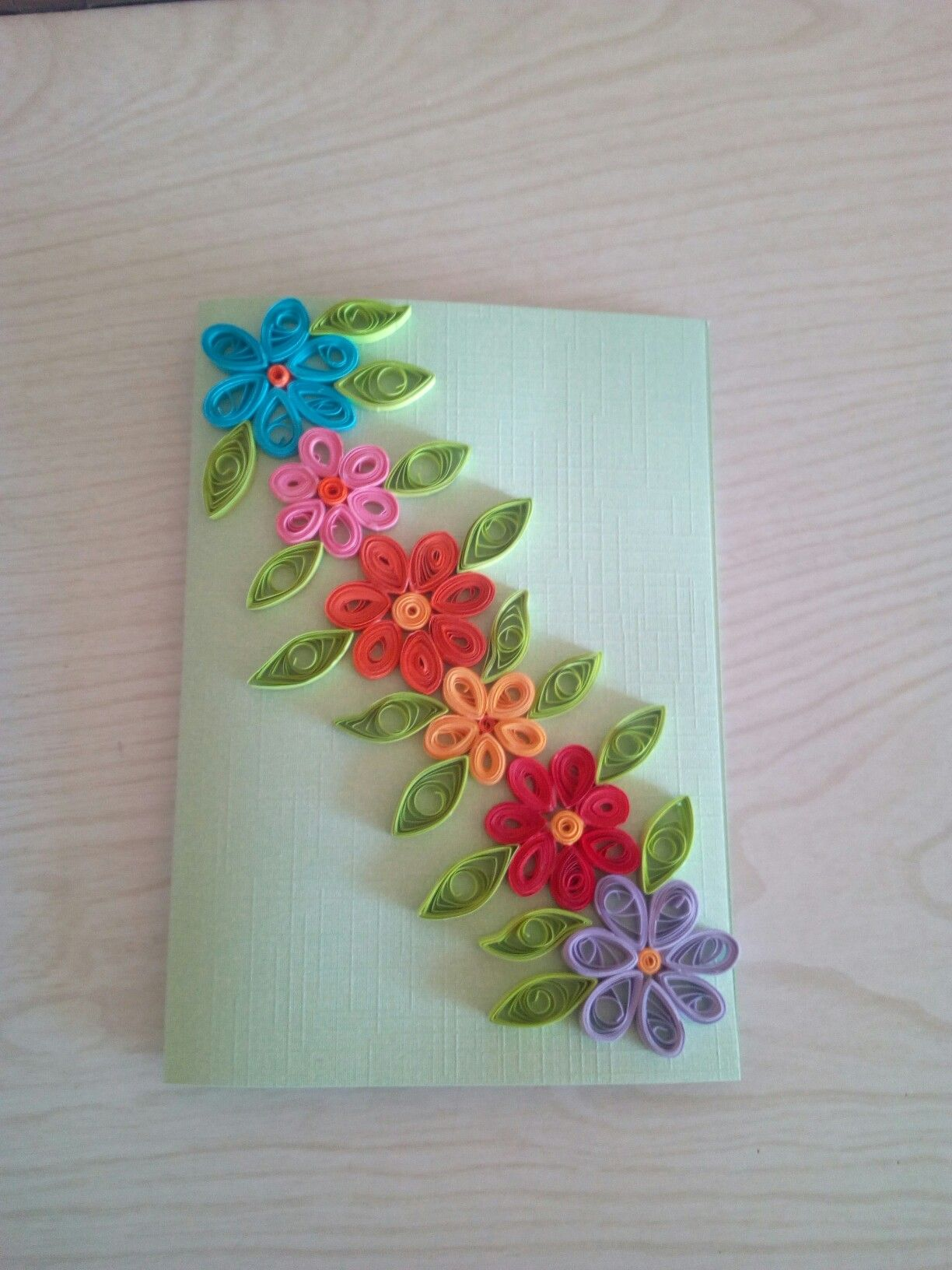Mom Mother S Day Card Paper Quilling For Beginners Paper