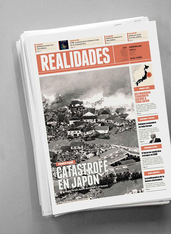 30 Stunning Newspaper Layout Designs – Bashooka