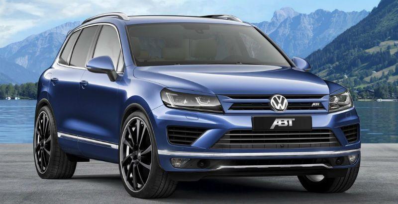 Volkswagen Touareg 3.0 TDI получил внешние обновления