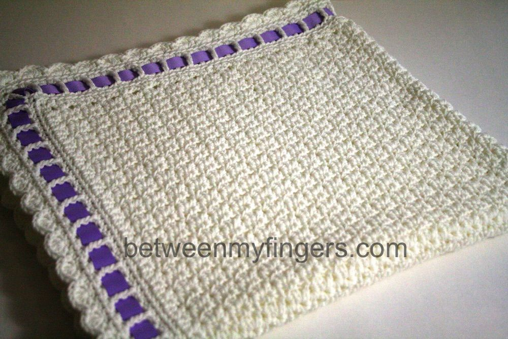 Baby blanket free crochet pattern from betweenmyfingers.com ...