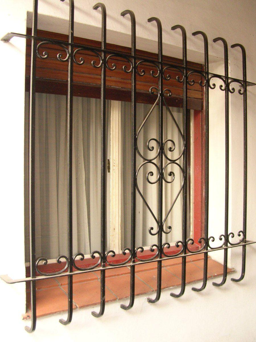 Reja artistica de hierro cuadrado masizo iron window - Verjas de hierro ...