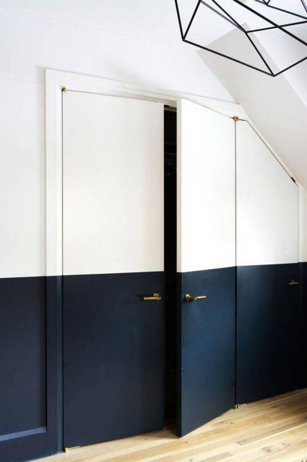 17 ideas para pintar y decorar las puertas interiores de casa Mil