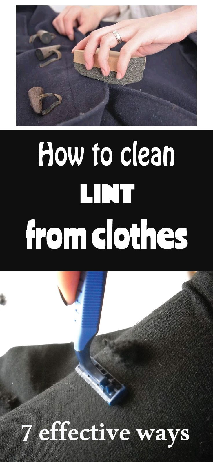 How to clean lint from clothes 7 effective ways Remove