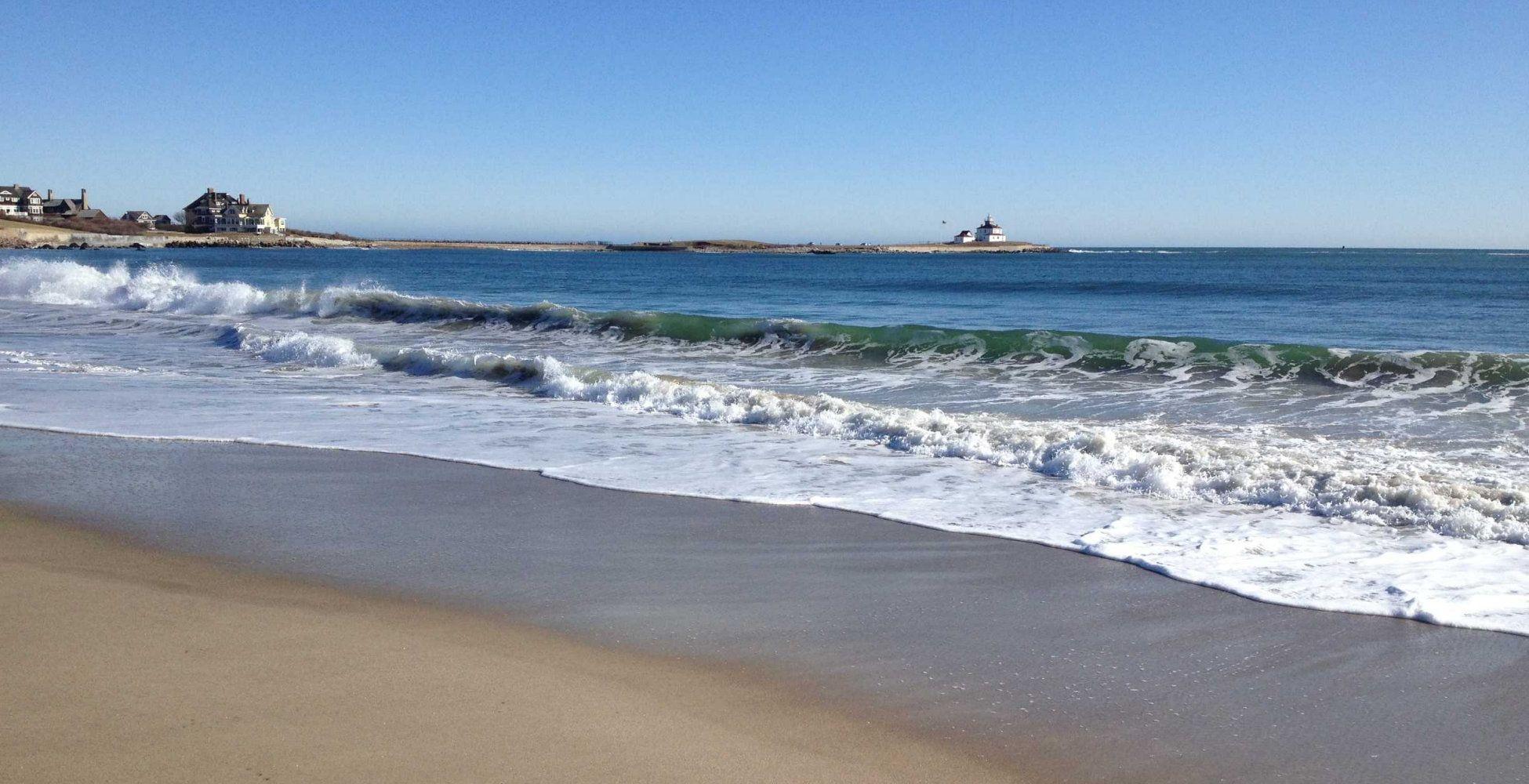 Watch Hill Beach And Carousel Rhode Island