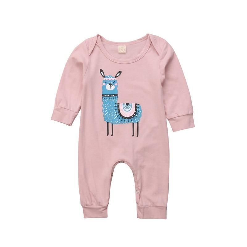Cuties Newborn Baby Kids Boys Girls Infant Casual Jumpsuit Cotton Long Sleeves
