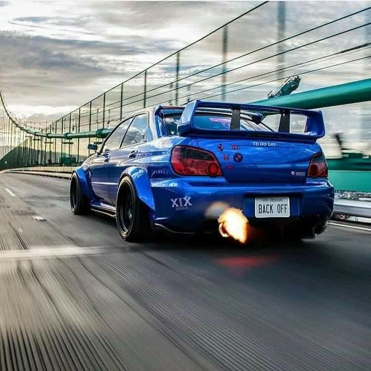 Subaru Wrx Sti Modified Widebody Luxury Cars Subaru Subaru