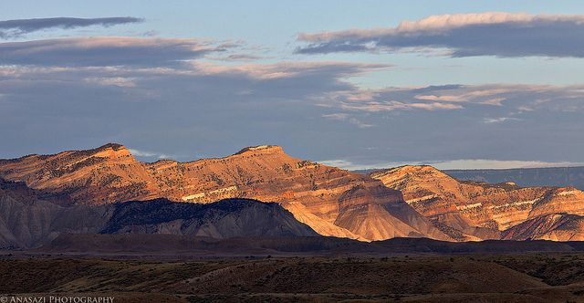 Sunlit Book Cliffs | Flickr - Photo Sharing!