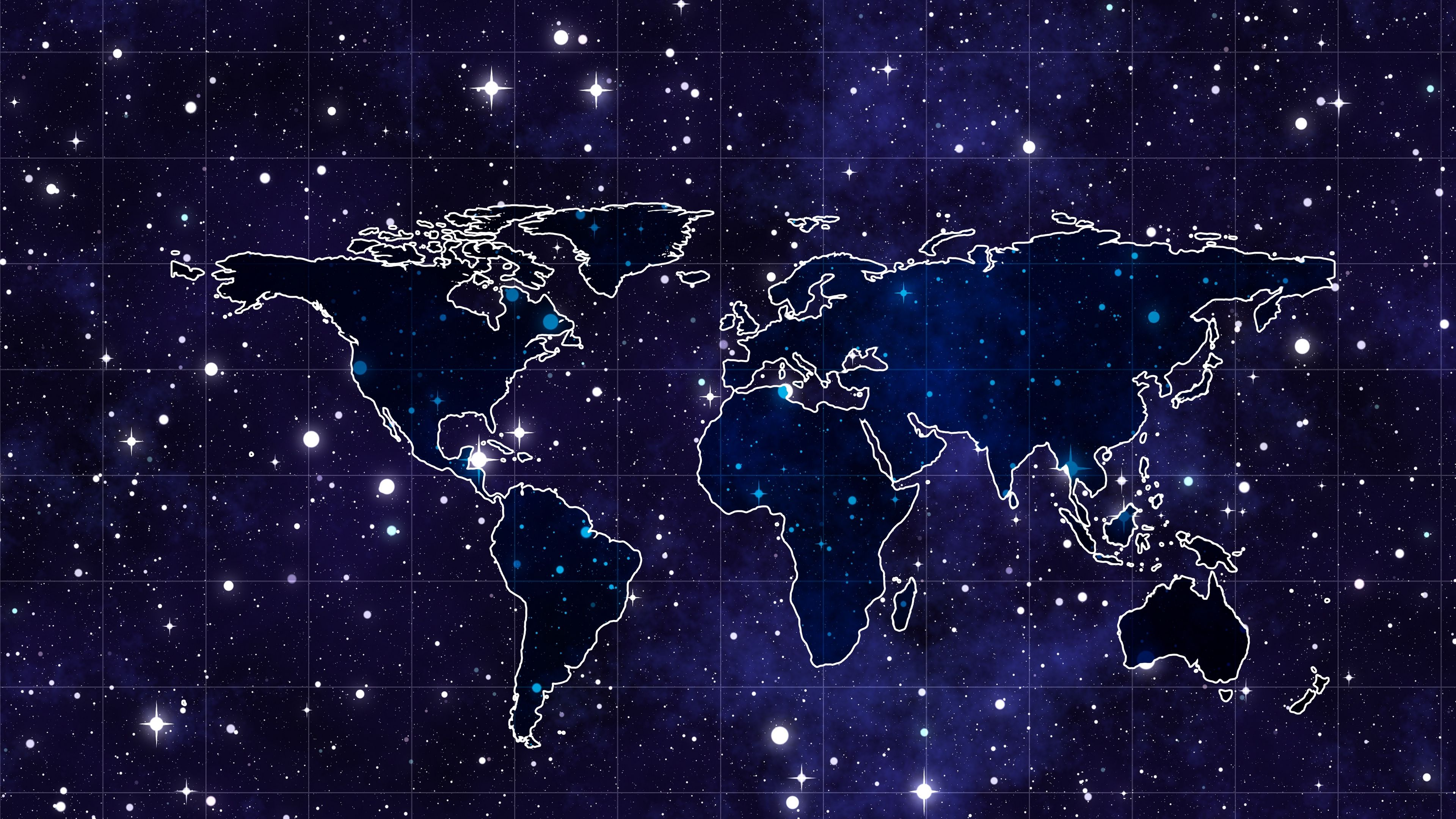 Space Continents Map 4k Space Map Continents In 2020 Wallpaper Space Laptop Wallpaper Desktop Wallpapers Wallpaper Notebook