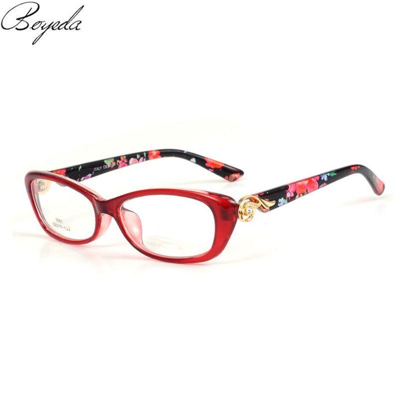 Cat Eye Frame for Female Grade Glasses Vintage Eyeglasses Frames for ...