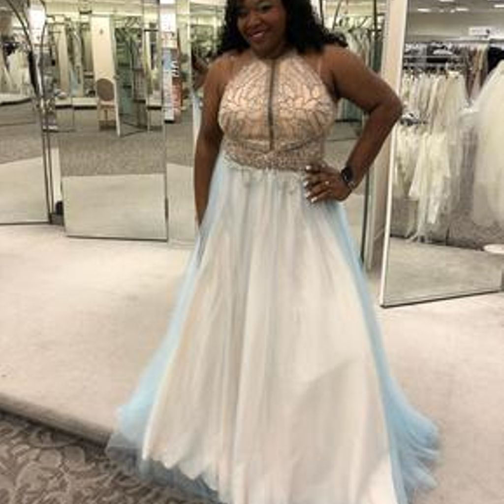 Layered tulle plus size gown with beaded bodice davidus bridal