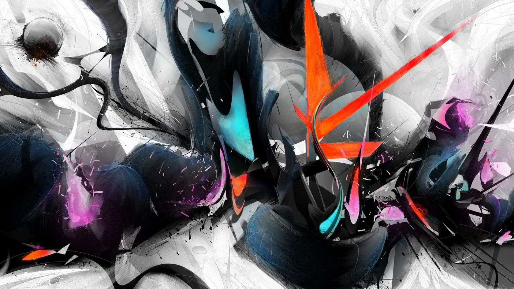Cool Abstract Art Designs Wallpaper Free Download - http://www ...