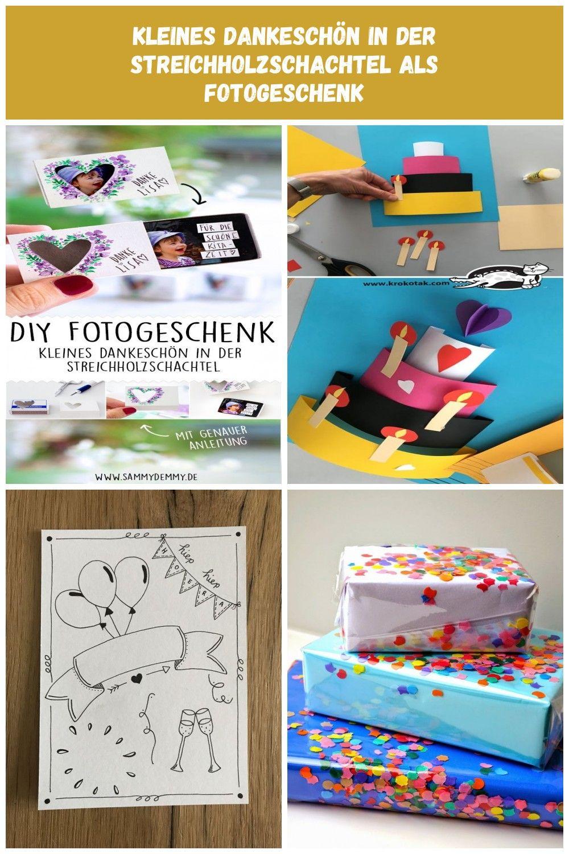Fotogeschenk Fotogeschenk Diy Fotogeschenk Ideen Geschenk
