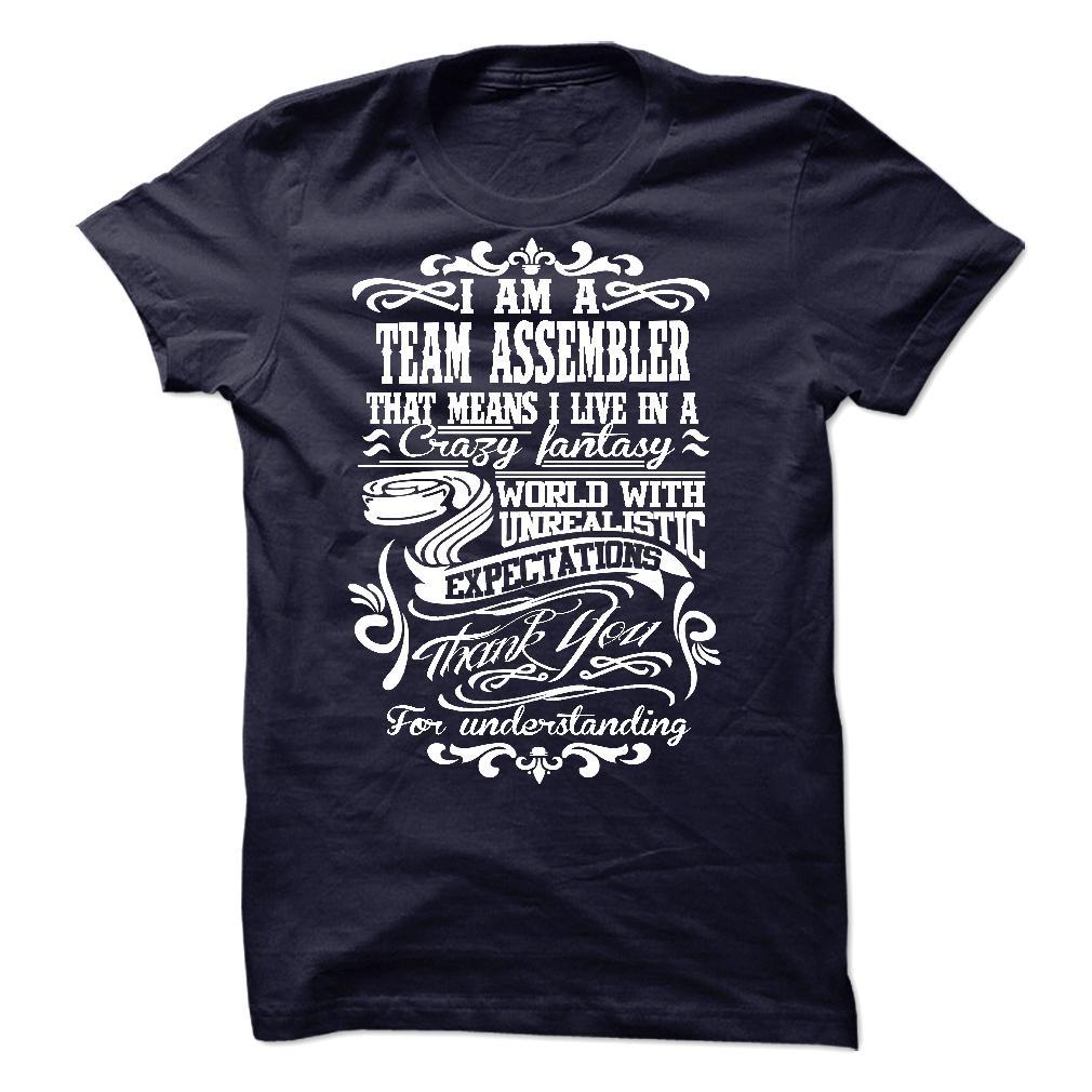 I am aan TEAM ASSEMBLER T Shirt, Hoodie, Sweatshirts - teeshirt #design #Dress