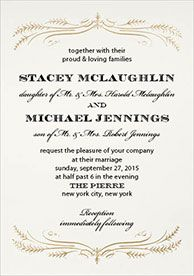 Exceptional Wedding Invitation Layout