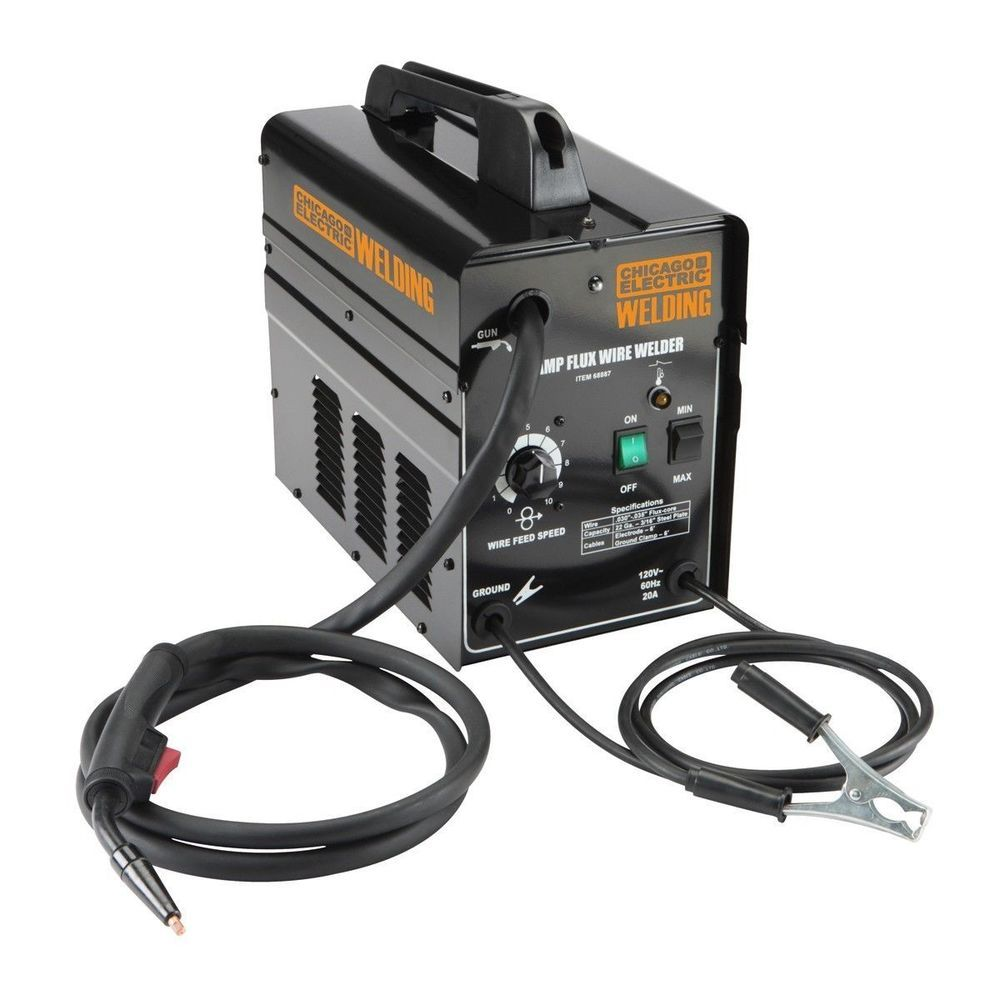 Flux Core Arc Welder Welder FCAW 90 Amp 120 Volt Wire Included Texas ...
