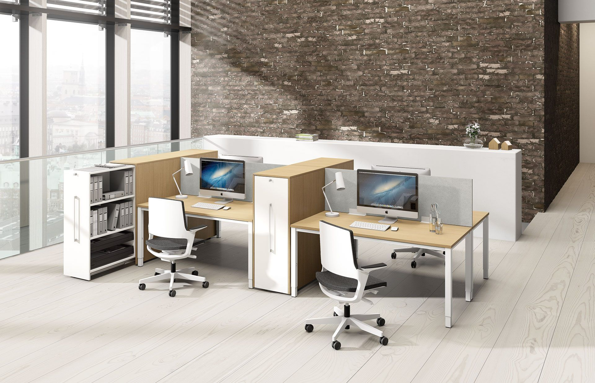 Abgeteilte Arbeitsplätze, Büromöbel Augsburg | Arbeitsplatz | Pinterest