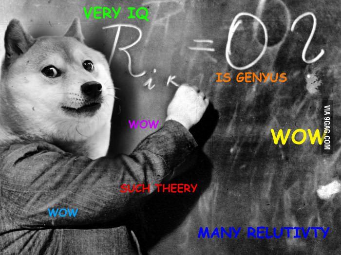 Einstein Doge Clean Funny Memes Doge Meme Doge
