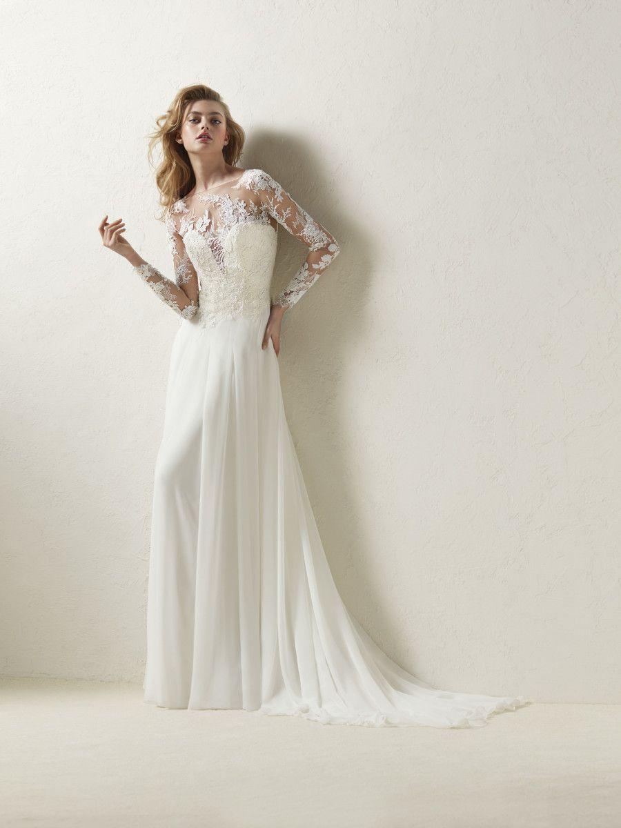 Wedding Dress Straight Design