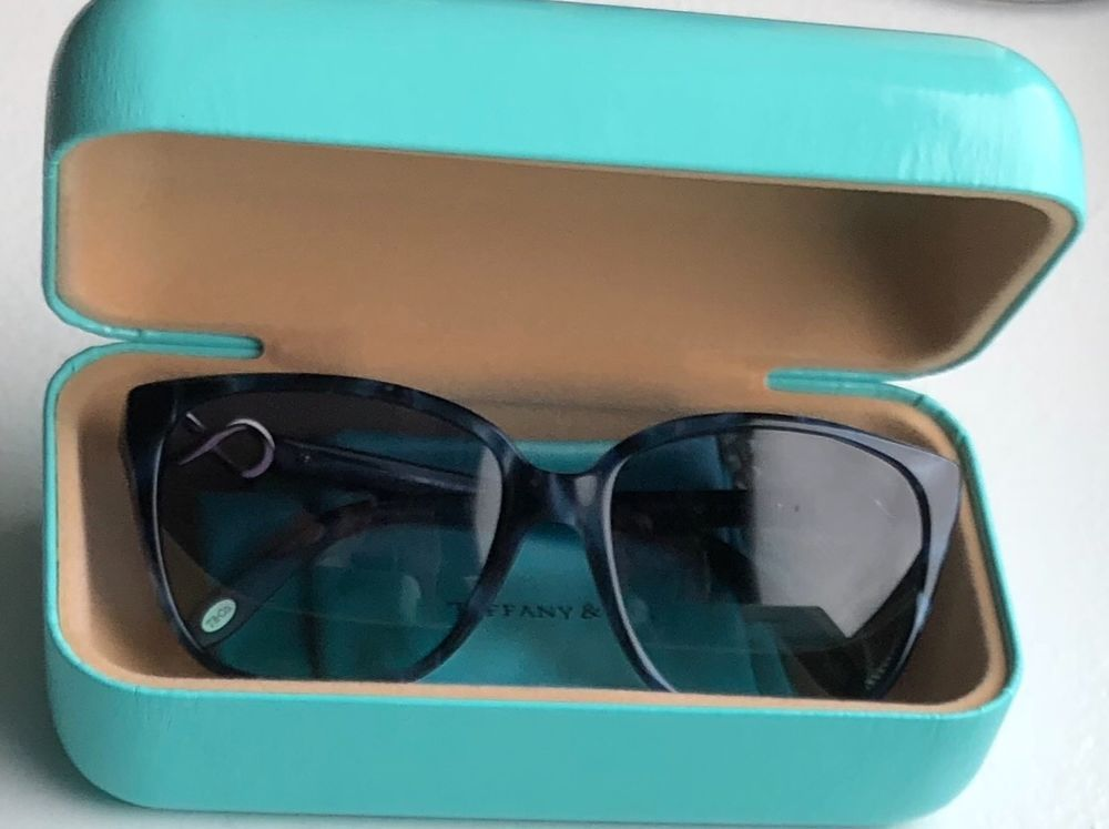 bca5fd1b8dc Brand new womens Tiffany sunglasses - blue tortoise frame with blue lense   fashion  clothing  shoes  accessories  womensaccessories ...